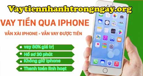 Vay tiền bằng iCloud iPhone