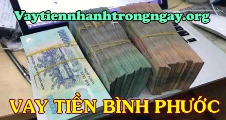 Vay tiền mặt trả góp ở Bình Phước